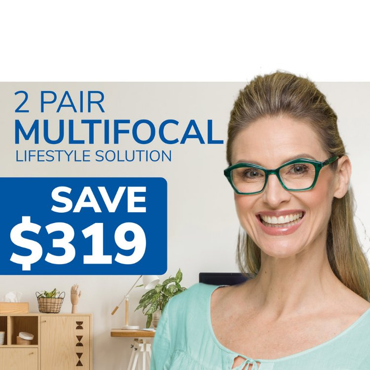Picture of Multifocal Lifestyle 2 Pairs Solution Coupon