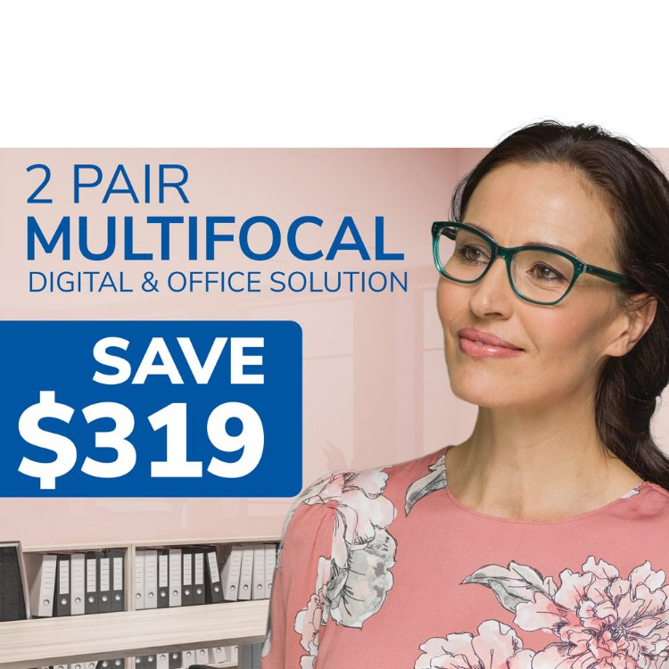 Picture of Corporate Multifocal 2 Pairs Solution Coupon