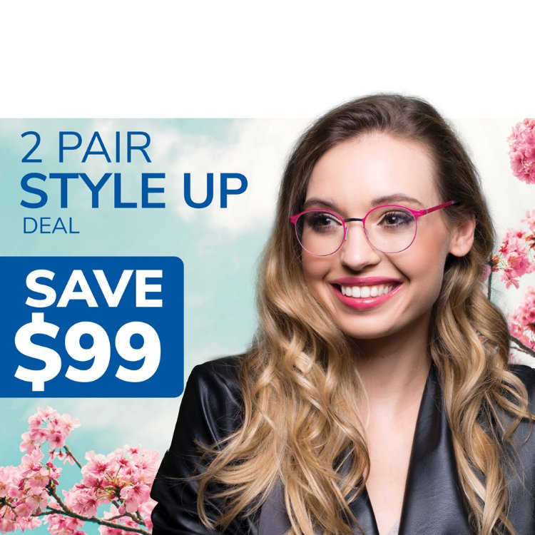 Picture of Style Up 2 Pair Deal Coupon